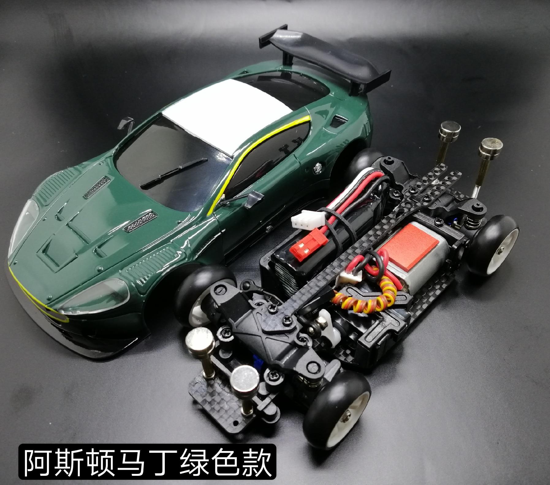 RC Mini Remote Control Car Mosquito Car Modified MINI-Q6 Mini Drift Car 1/28 Mosquito Car