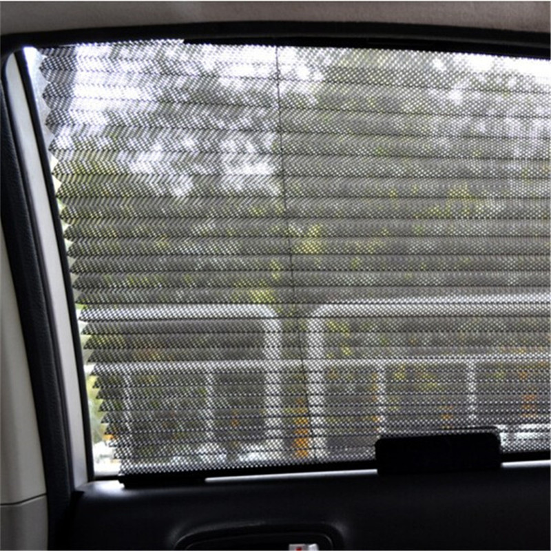 1Pcs Car Auto Retractable Side Window Curtain Shade Sun Shield Visor For Cars 60*46cm