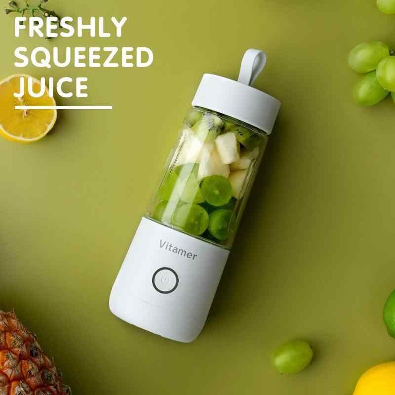 350ml mini espremedor de frutas elétrico portátil usb recarregável smoothie maker liquidificador máquina esportes garrafa juicing copo dropshipping