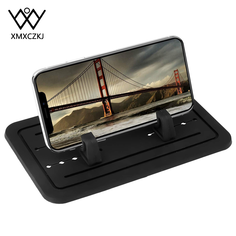 Pad Phone Stand Bracket Car Dashboard Non-slip Rubber Mat Phone Mount Holder For Huawei IPhone Samsung Xiaomi Phone Holder