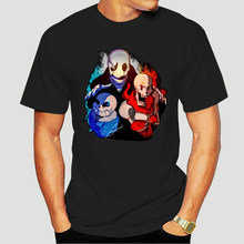 Undertale Papyrus Sans and Gaster funny anime t-shirt men new white casual homme TShirt cool cartoon t shirt streetwear 3014X
