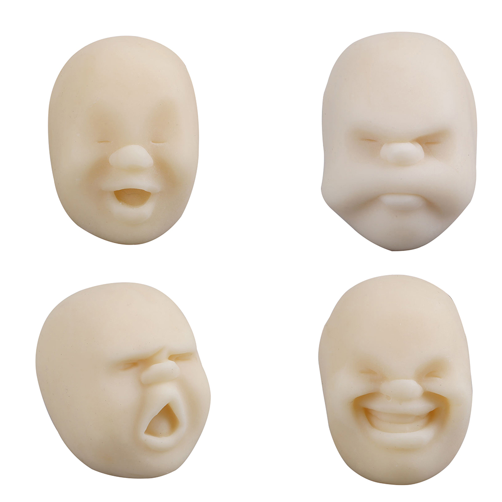 1PC New Anti-stress Toys Human Face Surprise Emotion Relaxing Relieve Stress Toys For Adults Kids
