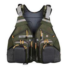 Multi-function Outdoor Sport Photography Fishing Adjustable Breathable Multi-pocket Vest Backpacks Unisex