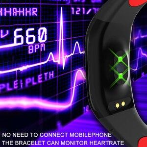 Image 3 - GPS фитнес браслет с измерением давления фитнес трекер здоровье кардио браслет пульсометр Шагомер умный Браслет
