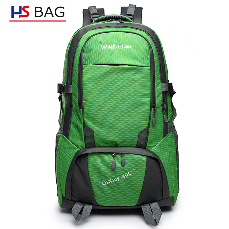 Autumn And Winter New Style Waterproof Mountaineering Bag Men Korean-style Outdoor Hiking Backpack Women's Hand Shoulder Mountai