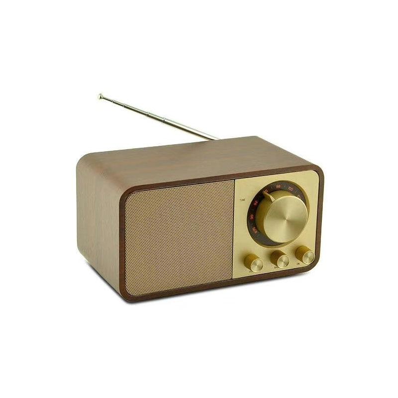 Portable Bluetooth Speaker With FM Radio Wireless