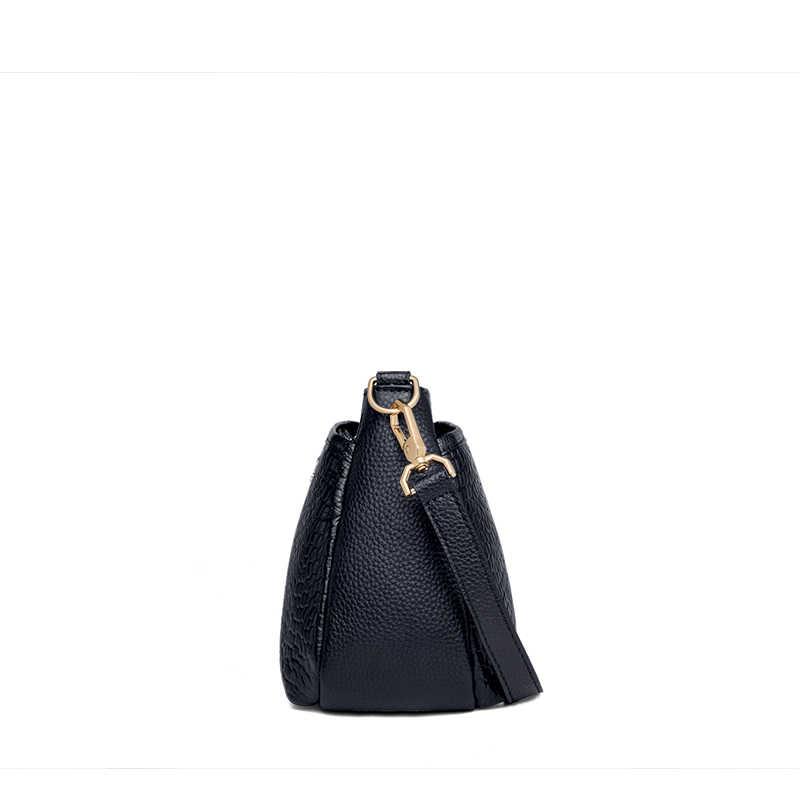 ZOOLER السيدات حقيبة كروسبودي حقيبة يد فاخرة حقائب كتف المرأة مصمم جلد طبيعي كبير جلد العجل حقيبة ساعي الفتيات الإناث