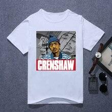 Nipsey Printed Tshirt women summer 2019 vintage Hip Hop rock T shirt Harajuku Streetwear Rapper Lil Peep Hussle t-shirt