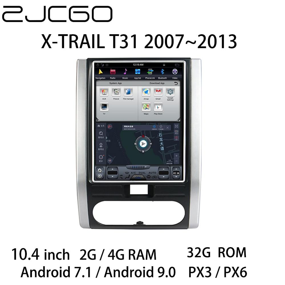 Автомобильный мультимедийный плеер, стерео, GPS, DVD, радио, навигация, Android, экран, монитор для Nissan X-TRAIL T31 2007 ~ 2013