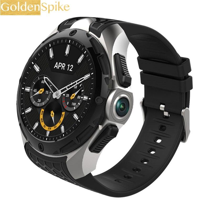 W2 3G montre intelligente téléphone 16GB + 2GB 2MP caméra 1.39 pouces AMOLED écran Nano SIM WIFI BT4.0 GPS montre sport Smartwatch hommes-in Montres connectées from Electronique    1