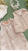 New Fashion 2020 Girl Dresses Two Pieces Pink Lace Flower Girl Dresses
