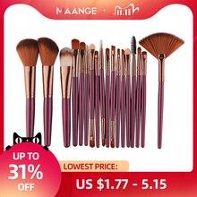 MAANGE Professional 15 шт./18 шт., косметические кисти для макияжа, основы, теней для век, губ, кисти для макияжа глаз, набор Pinceaux Maquillage