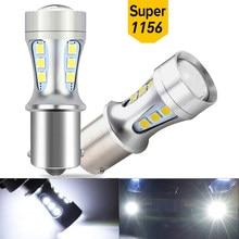 2X 1156 W16W LED T15 P21W 1157 7443 7440 LED Bulb Car Reverse Light 12V For Fiat 500 Stilo Panda Ducato Palio Bravo Linea Grande