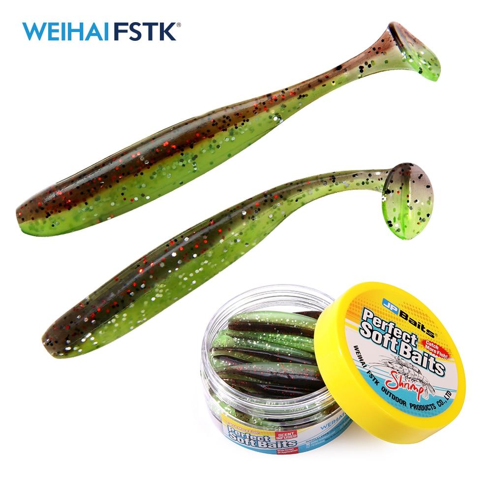 Eazi Shiner SwimBaits 7cm 5cm Silicone Artificial Double Color Wobblers Carp Fishing Soft Lures
