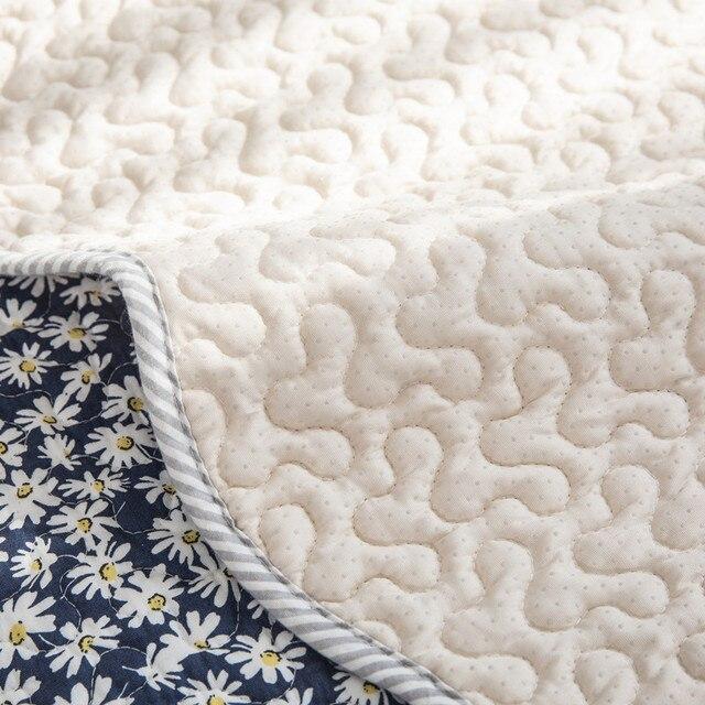 korean style printed sofa cover four seasons pastoral cotton фотография