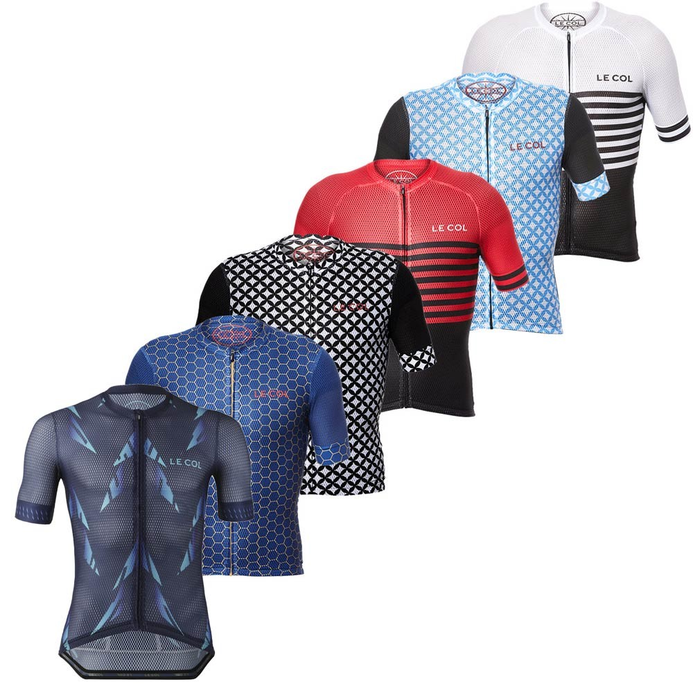 Bike-Shirt Bicycle-Wear Cycling-Clothing Sport-Tops Le Col Road-Mountain-Race Team Summer