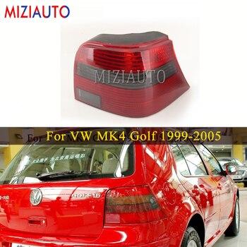 цена на MIZIAUTO Rear Tail Light For Volkswagen For VW MK4 Golf 1999-2005 Warning Brake Light Euro Style Red Stop Smoke  Bumper lamp