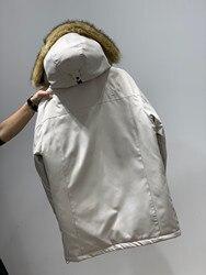 TNF пуховик мужской средней длины молодежный популярный бренд North 1 поверхность толстый пуховик пальто