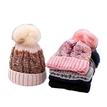 Fashion Winter Hat Skullies Beanies Winter Hat Unisex Knitted Beanie Caps Leisure Outdoor Women Men Warm Hat Warm Cap