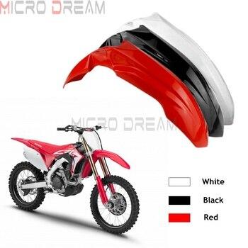 цена на 2017-2020 Off Road Front Fender Motocross Dirt Bike Front Mud Guard Mudguard for Honda CRF250R CRF450R CRF250RX CRF450RX Enduro