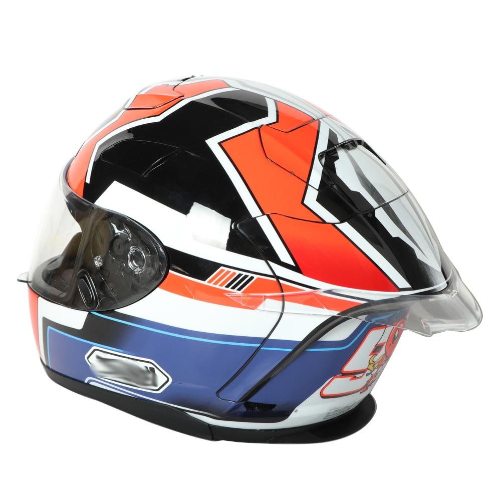 Motorrad Hinten helm spoiler fall für LS2 LS2-352/FF396/FF390/OF521