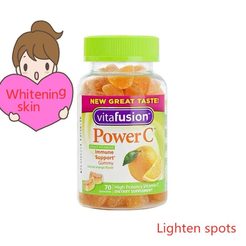 Vitafusion naturel vitamine C Nutrition Fudge VC soutient le blanchiment de la peau, éclaircit les Pigments, améliore la résistance