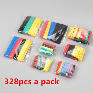 127/164/328Pcs Assorted Polyolefin Heat Shrink Tube Cable Sleeve Wrap Wire Set Insulated Shrinkable Tube