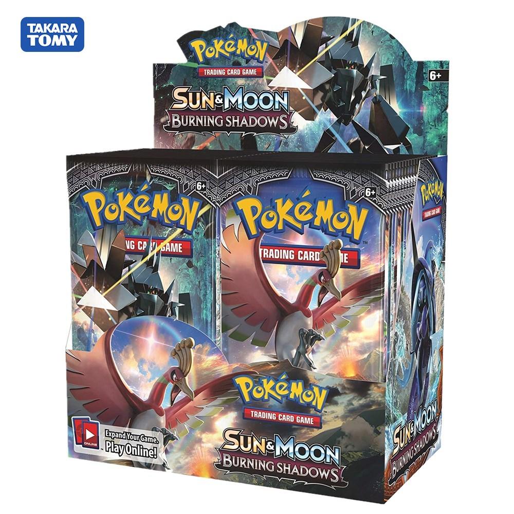 324Pcs Pokemon TCG: Sun & Moon Burning Shadows Sealed Booster Box Trading Card Game Set