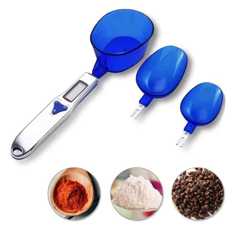 500g//0.1g Electronic LCD Digital Spoon Weight Scale Gram Kitchen Measuring Tool