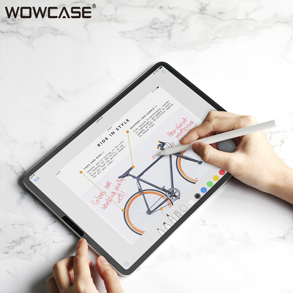 WOWCASE Paper Like Screen Protector For IPad Pro 12.9/11/10.5 Mini 5/4 Air 3 Professional Painting Sketching Paper Like Film