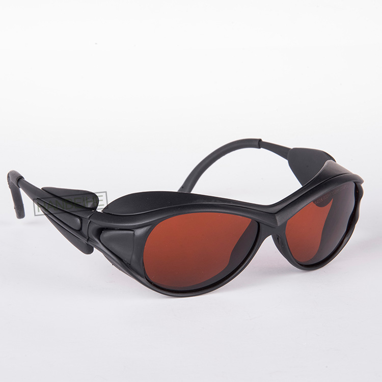 LSG-1 Laser Safety Glasses For 190-540nm And 800-1700nm O.D 5+ CE  445 532 980 1064 1070nm 1320nm 1470nm Lasers