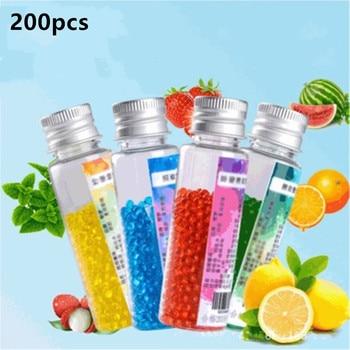 200 Uds cigarrillo Pops Beads Cápsula de mentol de fruta cuentas de menta sabor explosión bola titular de filtro de fumar Accesorios