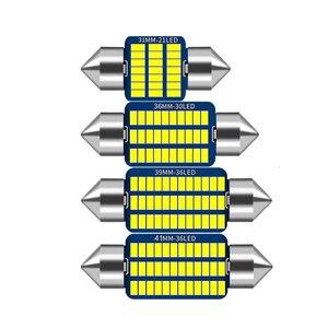 1x C5W C10W LED Bulb Canbus No error Festoon 31mm 36mm 39mm 41mm Car Interior Readling Light License Plate Lamp 12V 3014SMD Whie