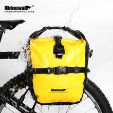 RHINOWALK 20L Bicycle Pannier Bag Waterproof Portable Bike Rear Rack Tail Seat Trunk Pack Cycling MTB Bag Bike Accessories недорого