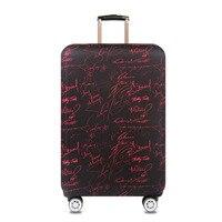 Verdickte Elastische Koffer Schutzhülle Reise Gepäck Abdeckungen Trolley Fall schutzhüllen für koffer fit 18 zu 32