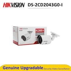 W magazynie oryginalny angielski DS-2CD2043G0-I wymień DS-2CD2042WD-I 4MP kamera sieciowa IP bullet IR kamera POE H265