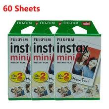 Fujifilm Instax Miniฟิล์ม 10 20 40 50 60 แผ่นสำหรับFUJIกล้องถ่ายภาพMini 11 9 8 7S 70 90 25 กล้องฟิล์มใหม่