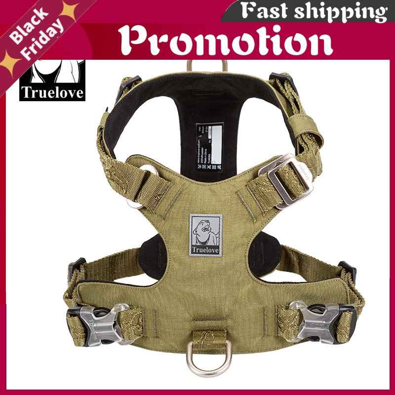Dog Light Weight Harness Adjustable Outdoor Pet Medium Small Large Adjustable Outdoor Tactical Military Service Tlh6281