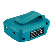 цены USB Power Charging Adapter Converter for MAKITA ADP05 14-18V Li-ion Battery BL1415 BL1430 BL1445 BL1815 BL1830 BL1845 Device