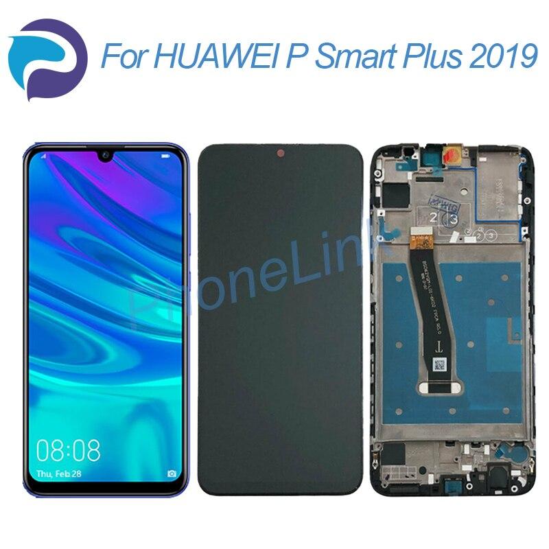 ЖК-экран P smart plus 2019, 2340*1080 сенсорный дигитайзер, сменный дисплей в сборе, ЖК-экран для P smart plus 2019