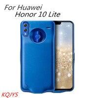 Caja de batería portátil KQJYS 6000mAh para Huawei Honor 10 Lite caja de batería externa ultrafina para Huawei Honor 10 Lite|Cajas de cargadores de batería| |  -