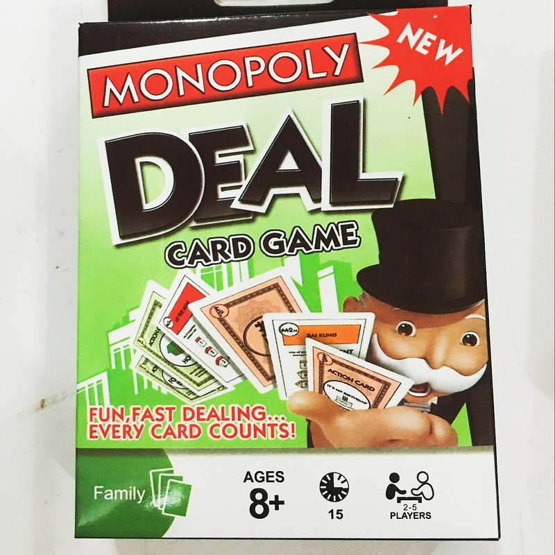 Habro Gaming Monopoly DEAL Card Game Board Table Toys For Kids