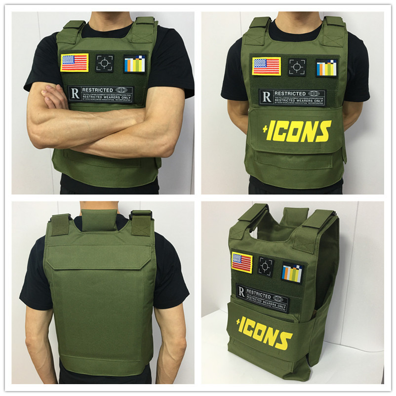 icons--vest-army-green