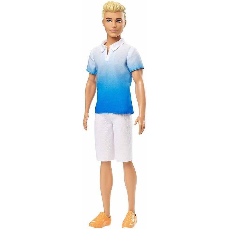 Barbie Fashionist-Ken Doll Blonde With Pants White Toy Store Articles Created Handbook