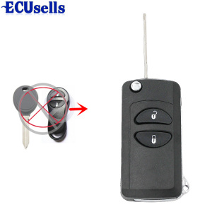For Chrysler Grand Cherokee PT Cruiser Voyager CONVERSION Flip Remote Key fob CASE(China)