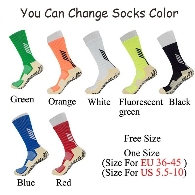 Size 36-45 Unsex Anti-Slip Breathable Men Running Cotton Rubber Socks Football Socks High Quality Men ZA Men Women Cycling Socks