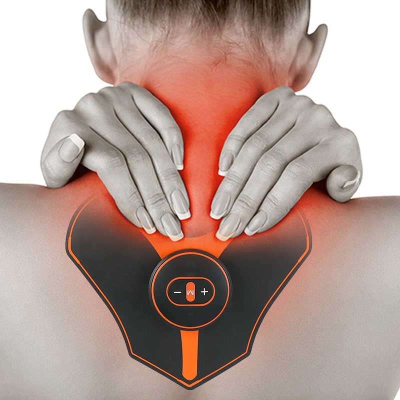 Multifunctional intelligent EMS cervical spine massager ladies men's Shoulder Back massager home gym cervical spine fitness equ image