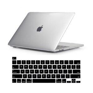 Image 2 - לניו Macbook Pro 16 2019 מקרה A2142 דגם מגע מזהה & מגע בר מחשב נייד שרוול מקרה עבור Mac ספר פרו 16 אינץ מקלדת כיסוי