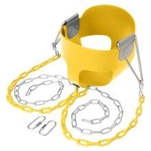 Swing Set Stuff Highback Full Bucket Swing Yellow