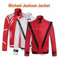 MJ Майкл Джексон пальто Beat It триллер панк куртка танцевальная верхняя одежда коллекция вечерние Косплей имитация реквизит